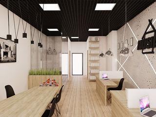 Ale design Grzegorz Grzywacz Scandinavian style study/office
