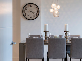 Station Rd, New Barnet Jigsaw Interior Architecture Industrial style dining room Metal Beige