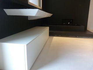 Microcemento, microcemento Minirasex V&V srl Bagno moderno