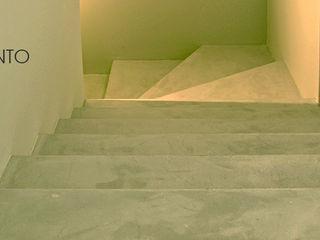 Pavimenti in microcemento V&V srl Soggiorno moderno