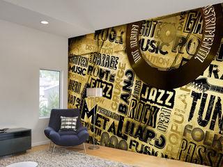 Text Graphic Wallpaper and Murals for Walls wallsandmurals