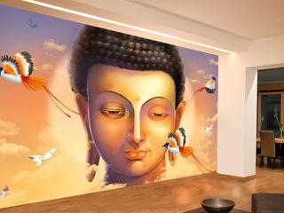Asian Zen wallpaper and Murals for Walls wallsandmurals BedroomBedside tables Paper