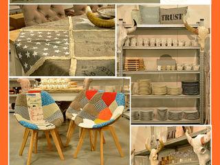 Groothandel in decoratie en lifestyle artikelen Living roomStools & chairs