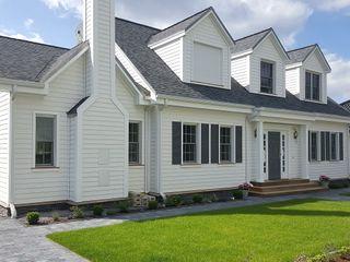 THE WHITE HOUSE american dream homes gmbh Nhà phong cách đồng quê