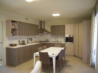 ARREDAMENTI VOLONGHI s.n.c. KitchenStorage Kayu Buatan Wood effect
