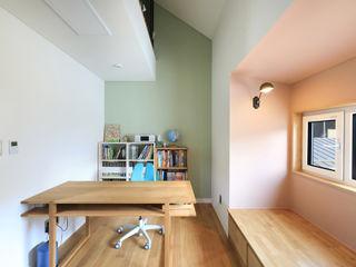 주택설계전문 디자인그룹 홈스타일토토 Modern Bedroom Chipboard Green