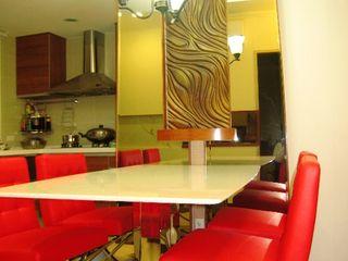 南港無醛健康住宅案 Hearts Interior Design 勁心設計研所 Rustic style dining room