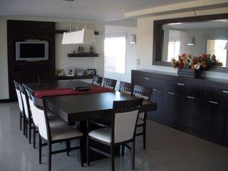 MOBILFE Minimalist dining room Wood Wood effect