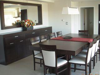 MOBILFE Minimalist dining room Wood
