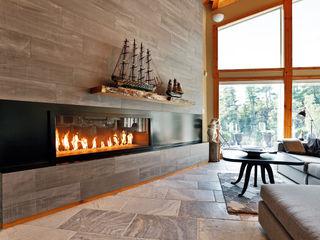 Unit 7 Architecture Livings de estilo moderno