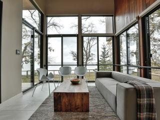 Unit 7 Architecture Jardines de invierno de estilo moderno