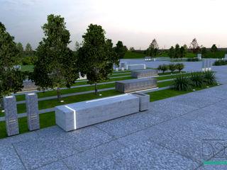Distone OgródMeble ogrodowe Kamień Szary