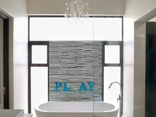 New house build Deborah Garth Interior Design International (Pty)Ltd Modern bathroom
