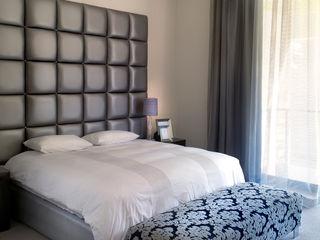 New house build Deborah Garth Interior Design International (Pty)Ltd Modern style bedroom
