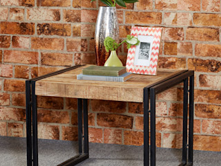 Cosmo Industrial Style Furniture Industasia Living roomSide tables & trays