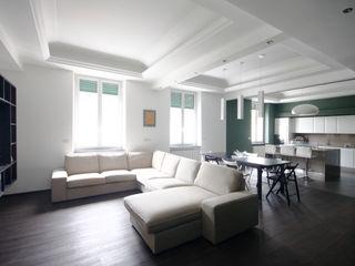 Andrea Orioli Livings de estilo minimalista