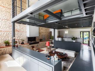 Hugues Tournier Architecte Modern Living Room