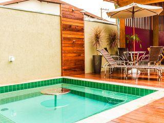 Bianca Ferreira Arquitetura e Interiores Spa Ceramic Green