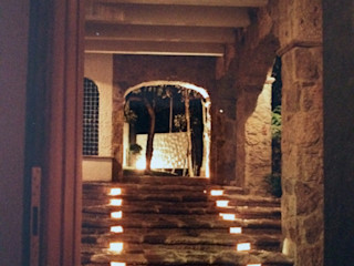 Base-Arquitectura Modern corridor, hallway & stairs