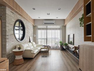 思維空間設計 Minimalist Oturma Odası
