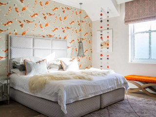 House Paterson Road The Painted Door Design Company Eclectic style bedroom