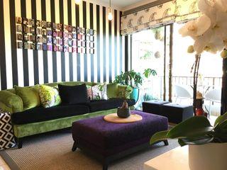 Studio Apartment Riversedge The Painted Door Design Company Living room