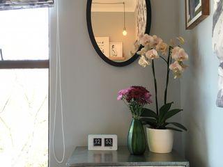 Studio Apartment Riversedge The Painted Door Design Company Eclectic style bedroom