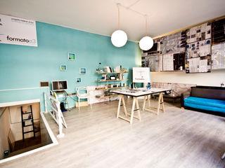 ATELIER S formatoa3 Studio Negozi & Locali commerciali in stile industrial