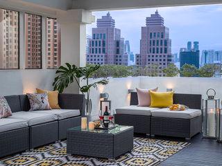 Design Intervention Balcones y terrazas modernos: Ideas, imágenes y decoración