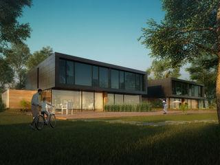CIP Architekten Ingenieure Modern Houses Metal Black