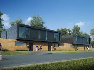 CIP Architekten Ingenieure Modern Houses Wood Brown