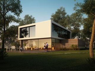CIP Architekten Ingenieure Modern Houses Wood White