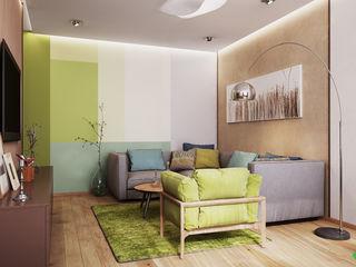 Polygon arch&des Minimalist bedroom