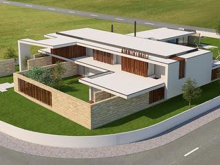 Casa ECOHouse Dona Elizabete Risco Singular - Arquitectura Lda