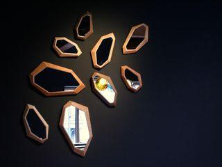 MOCTAVE SalonesAccesorios y decoración Madera Acabado en madera