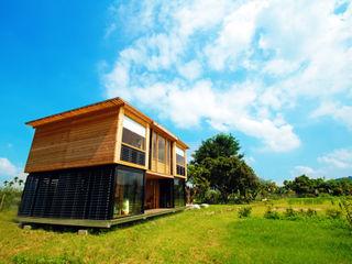 FAMWOOD 自然紅屋 Rustic style house
