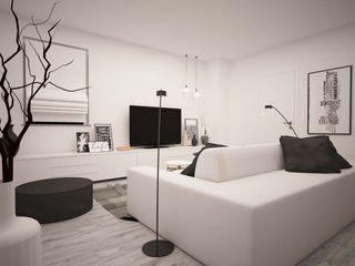 LA LOGGIA HOUSE LAB16 architettura&design Soggiorno minimalista