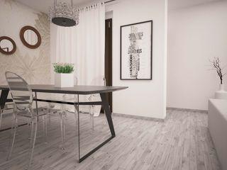 LA LOGGIA HOUSE LAB16 architettura&design Sala da pranzo minimalista