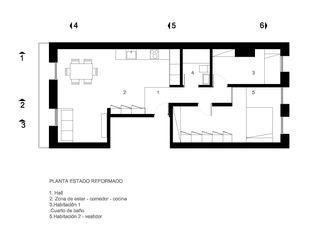 VIVIENDA EN 31 DE AGOSTO ZEBRA LAB ARQUITECTURA Salones de estilo moderno