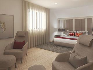 Inside Home Unipessoal LDA. Modern Bedroom