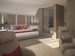 Inside Home Unipessoal LDA. Modern Bedroom Multicolored