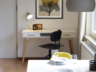 Studio Dooie Estudios y despachos de estilo moderno Amarillo