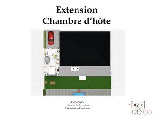 Extension pour créer une chambre d'hôte L'Oeil DeCo