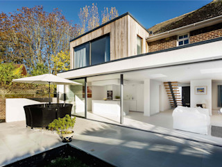 The Beckett House Adam Knibb Architects Modern houses
