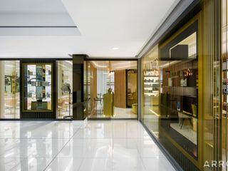 ARRCC Eclectic style corridor, hallway & stairs