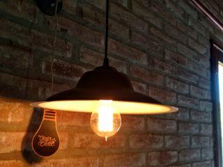 Lámpara Pared Industrial Pantalla Colgante Lamparas Vintage Vieja Eddie HogarArtículos para el hogar Hierro/Acero Negro
