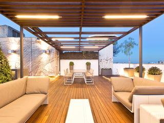 Garden Center Conillas S.L 露臺 木頭 Wood effect