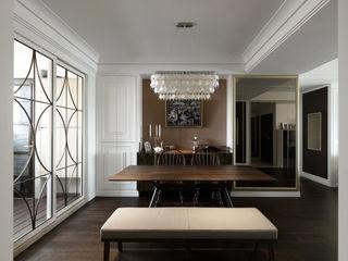 大荷室內裝修設計工程有限公司 Comedores de estilo clásico