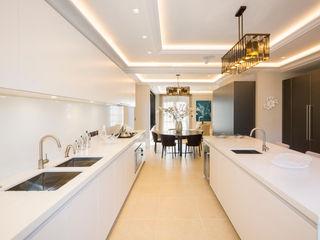 Hampstead Garden Suburb Homes KSR Architects Modern Kitchen White