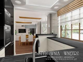 Stylownia Wnętrz Modern kitchen MDF Multicolored